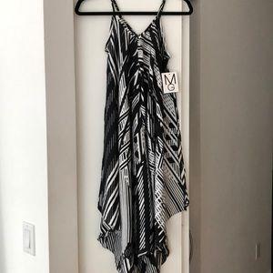 NWT summer black and white dress